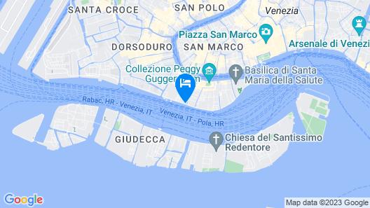 Hotel La Calcina Map