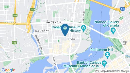 Les Suites Victoria, Ascend Hotel Collection Map