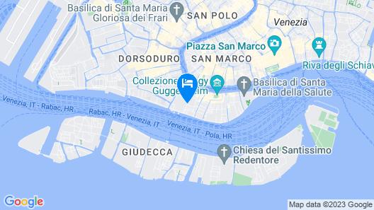 Belle Arti Hotel Map