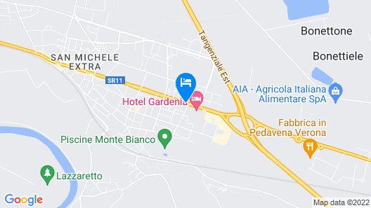 SHG Hotel Verona Map