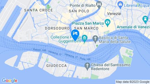 Agli Alboretti Map