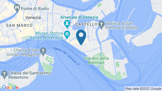 Riva Excelsior Apartment Map
