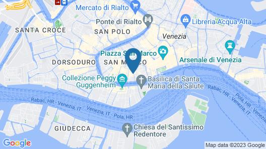 Gio & Gio Venice Bed & Breakfast Map