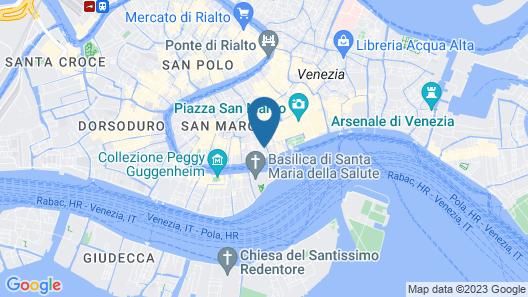 Hotel Anastasia Map