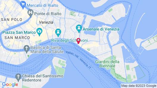 Hotel Bucintoro Map