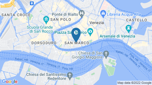 Hotel Saturnia & International Map
