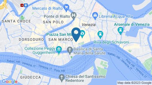 Hotel Casanova Venezia Map