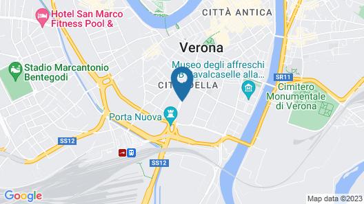 Hotel Indigo Verona - Grand Hotel Des Arts Map