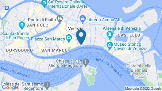 Hotel Danieli, a Luxury Collection Hotel, Venice Map