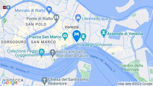 Hotel Danieli, a Luxury Collection Hotel, Venice Map