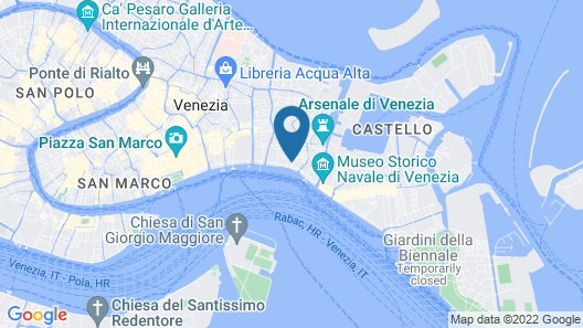 Hotel Al Nuovo Teson Map
