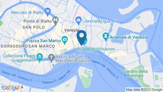 Hotel Paganelli Map