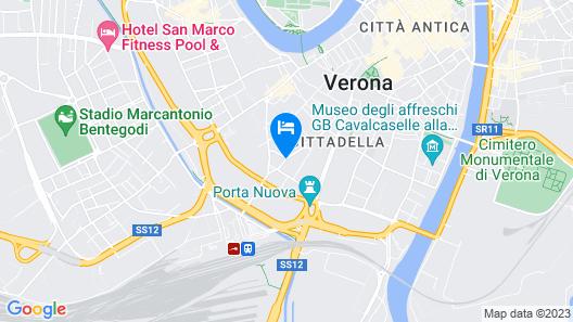 Hotel Giberti Map