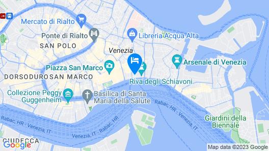 Hotel Savoia & Jolanda Map