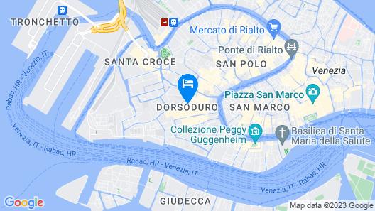 Hotel Cà Nobile Corner Map