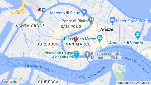Palazzo Paruta & Wellness Apartments Map