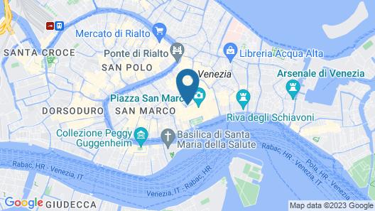 Hotel Cavalletto e Doge Orseolo Map