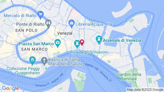 Hotel Bisanzio Map