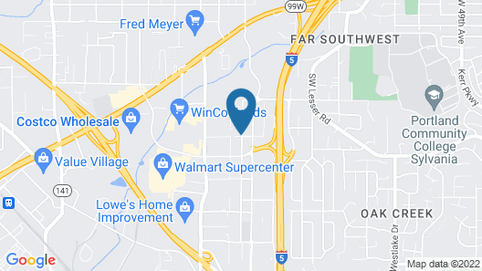 Hampton Inn & Suites Tigard, OR Map