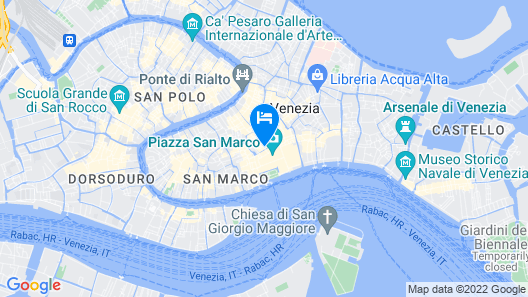 Hotel San Marco Map