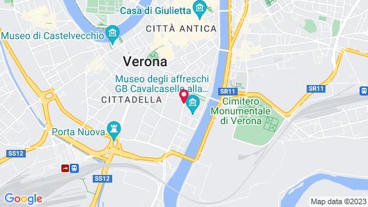 Best Western Plus Hotel De Capuleti Map