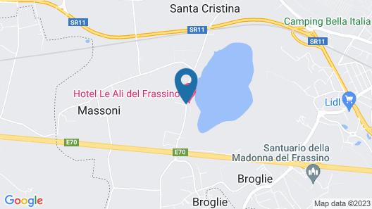 Le Ali del Frassino Map