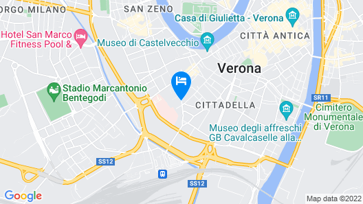 Boutique Hotel Scalzi - Adults Only Map