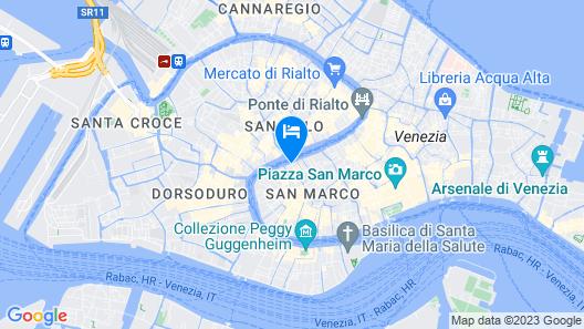 NH Collection Venezia Palazzo Barocci Map