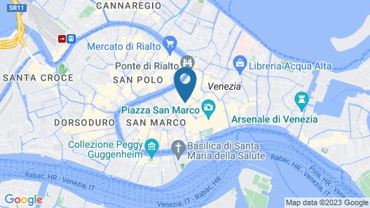 Hotel Al Codega Map