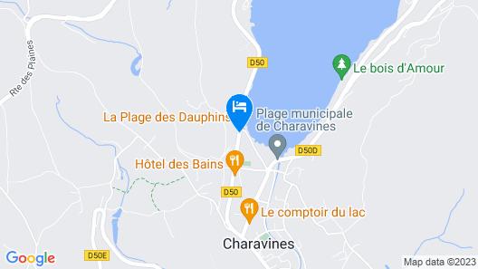 Hostellerie du Lac Bleu Map