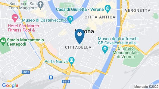 Hotel Verona Map