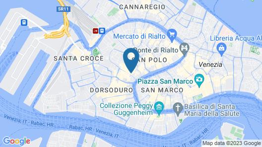 Hotel Iris Venice Map