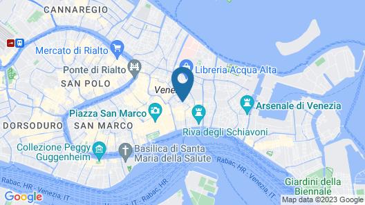 Hotel Casa Verardo Residenza d'Epoca Map