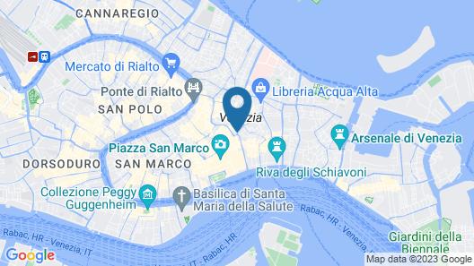 Luxury Venetian Rooms Map