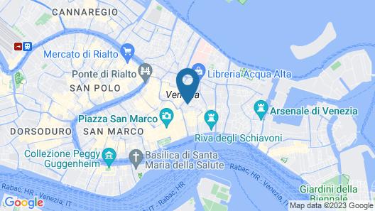 Ca' Dei Conti Map