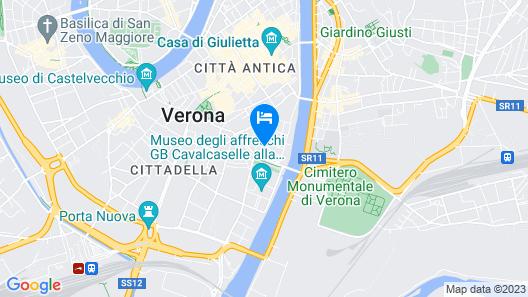 Best Western Hotel Armando Map
