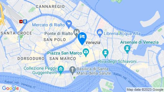 Splendid Venice – Starhotels Collezione Map