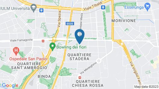 Aiello Suites Milan Map