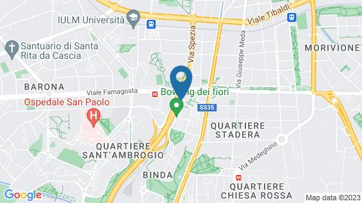 Hotel Dei Fiori Map