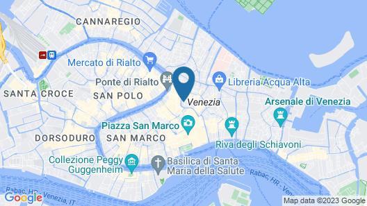 Hotel Ai Reali di Venezia Map