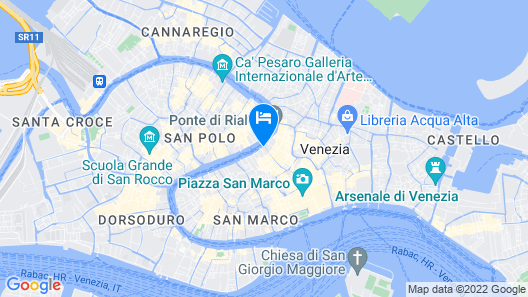 Palazzo Bembo - Exclusive Accommodation Map