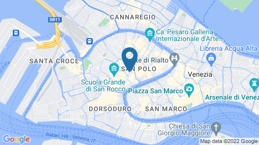 Grifoni Boutique Hotel Map