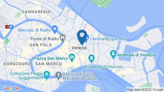 Hotel Scandinavia - Relais Map