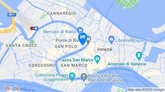 Riva del Vin Boutique Hotel Map