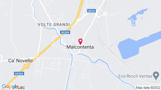 Hotel Palladio Map