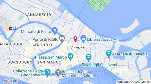 Hotel Ai Cavalieri di Venezia Map