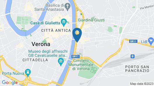 Appartamenti Museo Map