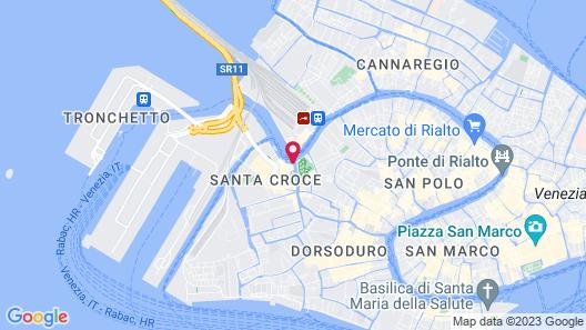 Santa Chiara Hotel Map