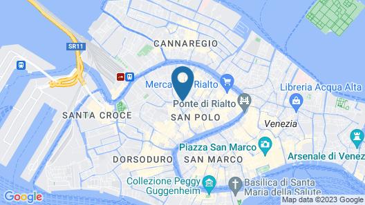 Appartamento Campiello Chiesa Map