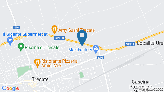 V12 Apartments - Trecate Map